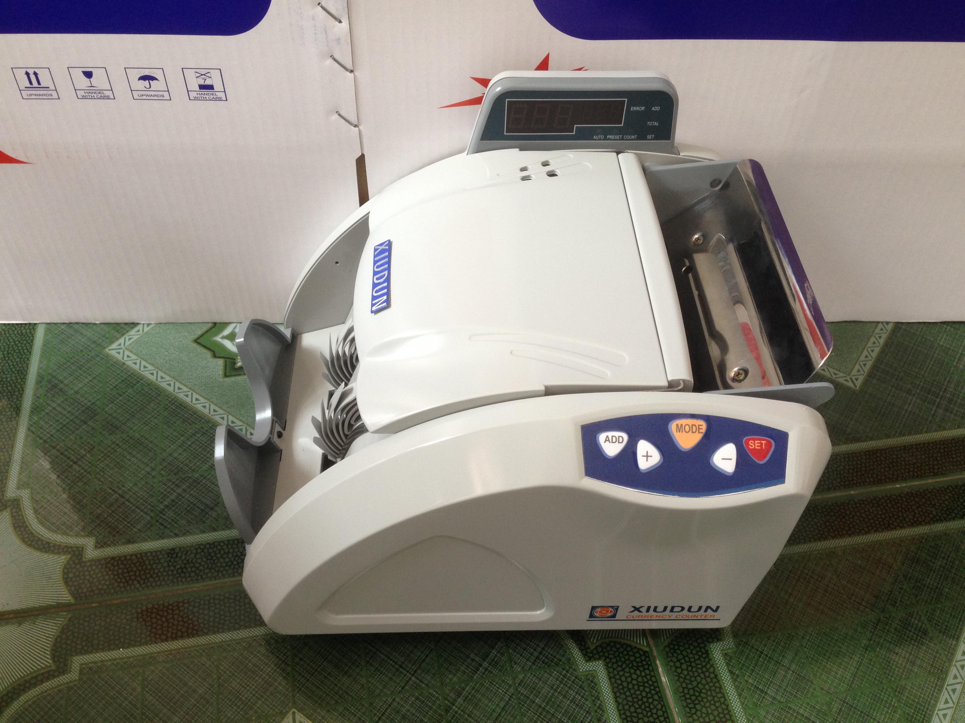 Hướng dẫn sử dụng máy đếm tiền Xiudun XD-2500K
