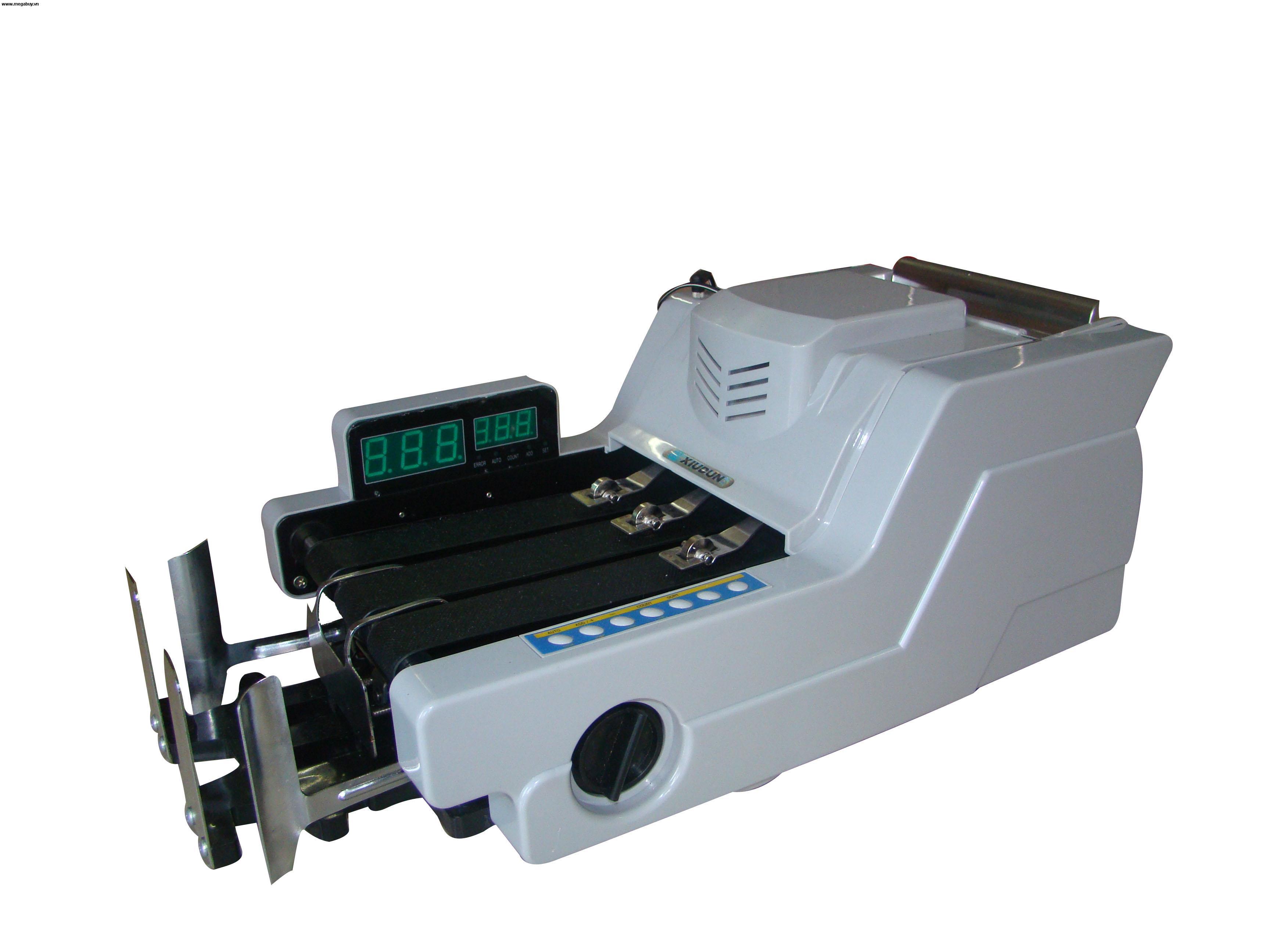 Hướng dẫn sử dụng máy đếm tiền Xiudun kiều máy nằm