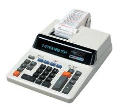 Máy tính in ra giấy Casio DR-140N