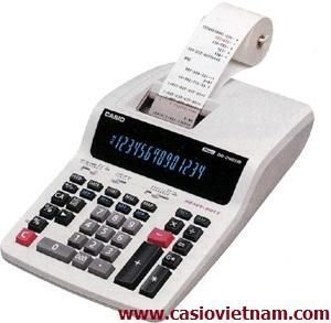 Máy tính in ra giấy Casio DR-240TM