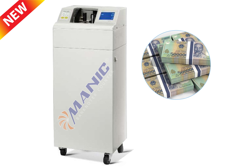 Máy đếm tiền khí nén MANIC B-2021