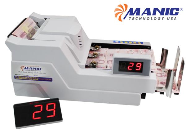 Máy đếm tiền MANIC B-9080PR(2019)