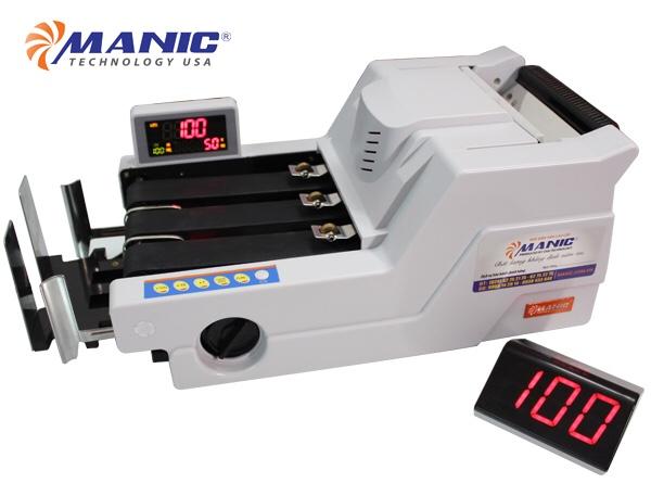 Máy đếm tiền Manic B-6868 (New 2020)